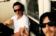 Norman Reedus Pranks Andrew Lincoln on Set