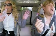 Britney Spears Sings Live During Carpool Karaoke (VIDEO)