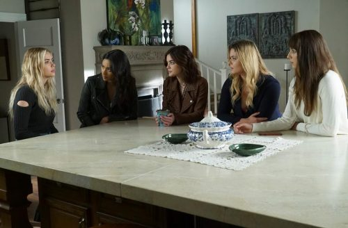 Photo from the Pretty Little Liars Facebook page