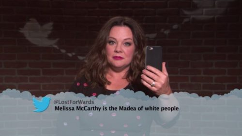 Ryan Gosling and Melissa McCarthy Read Mean Tweets on Jimmy Kimmel Live