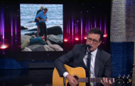 Stephen Colbert Sings Goodbye Song To Taylor Swift and Tom Hiddleston (VIDEO)