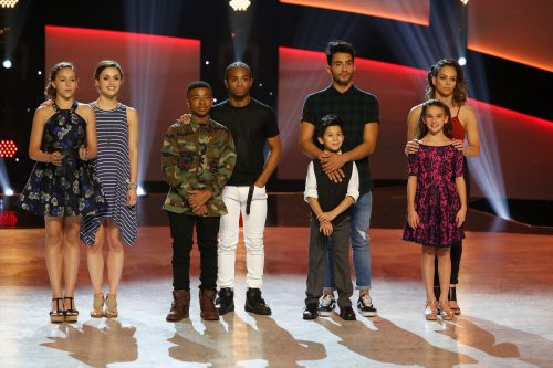 SO YOU THINK YOU CAN DANCE: Front L-R: Top 4 contestants Kida Burns, J.T. Church, Tate McRae Emma Hellenkamp, Back L-R: all-stars Kathryn McCormick, Fik-Shun, Robert Roldan and Gaby Diaz on SO YOU THINK YOU CAN DANCE airing Monday, September 5 (8:00-10:00 PM ET live/PT tape-delayed) on FOX. ©2016 FOX Broadcasting Co. Cr: Adam Rose