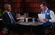 Last Week In Late Night: Colbert Helps Obama With His Job Search