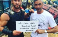 Chris Hemsworth Stands with the Dakota Access Pipeline Protest