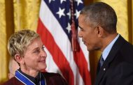 Ellen DeGeneres Receives The Presidential Medal of Freedom (VIDEO)