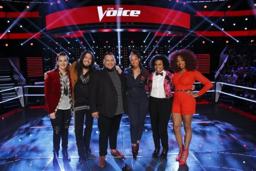 The Voice USA 2016 Spoilers - Voice Playoffs - Team Alicia