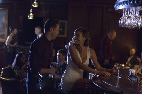 LUCIFER: L-R: Kevin Alejandro and Tricia Helfer in the ÒHomewreckerÓ episode of LUCIFER airing Monday, Nov. 21 (9:01-10:00 PM ET/PT) on FOX.   ©2016 Fox Broadcasting Co. Cr: Michael Courtney/FOX.