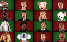 Sing Cast Sings 'Wonderful Christmastime' with Jimmy Fallon (VIDEO)