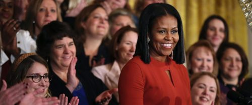 Her speech was given during a ceremony honoring the 2017 School Counselor of the Year in the East Room of the White House on Friday (January 6) in ...