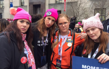 Celebrities During 2017 Women's March (PHOTOS)