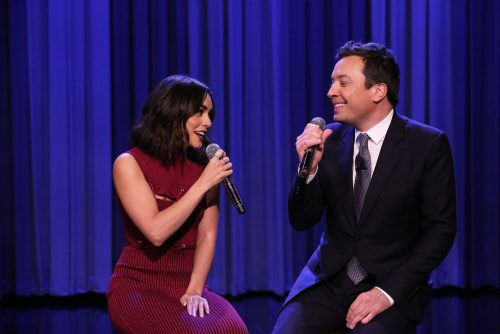 Vanessa Hudgens and Jimmy Fallon Sing Friends Theme Song (VIDEO)