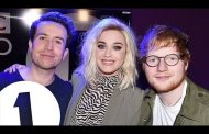 Ed Sheeran Crashes Katy Perry's Interview