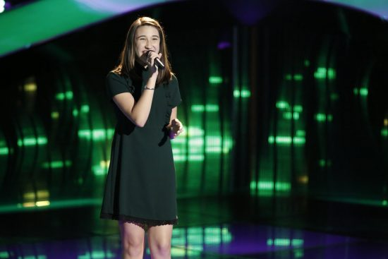 The Voice 2017 Spoilers - Voice Blinds - Hanna Eyre Blind Audition