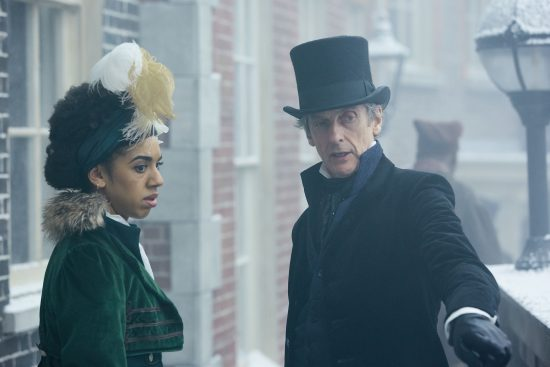 Doctor Who 10x03: Bill (PEARL MACKIE), The Doctor (PETER CAPALDI) - (C) BBC - Photographer: Simon Ridgway