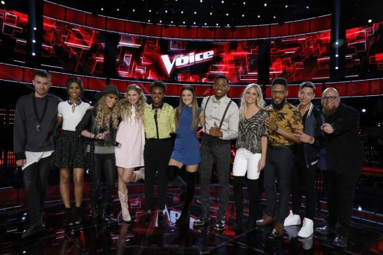The Voice 2017 Spoilers - Voice Top 11