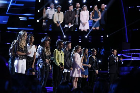 The Voice 2017 Spoilers - Voice Top 12 Results