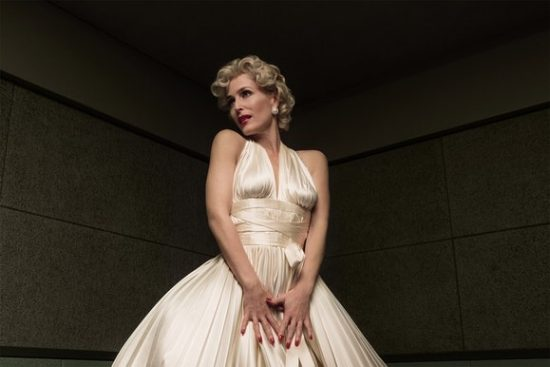 American Gods 1x05 Gillian Anderson as Media as Marilyn Monroe