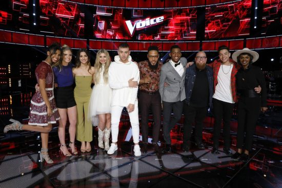 The Voice 2017 Spoilers - Voice Top 10