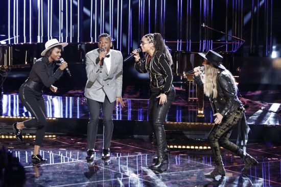The Voice 2017 Spoilers - Voice Top 11 Results - Team Alicia Performance