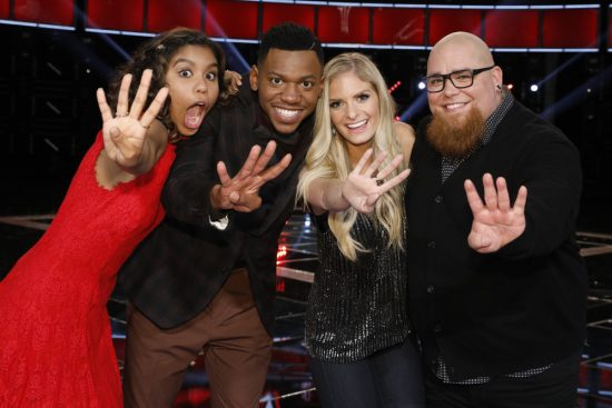 The Voice 2017 Spoilers - Voice Top 4
