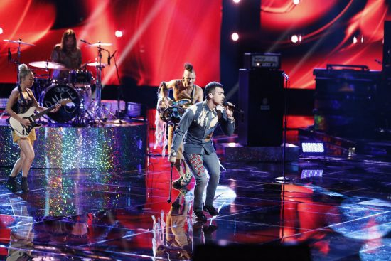 The Voice 2017 Spoilers - Voice Top 8 Results Show - DNCE Performance