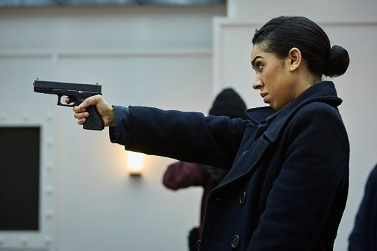 Doctor Who 10x08 Bill Potts, Badass