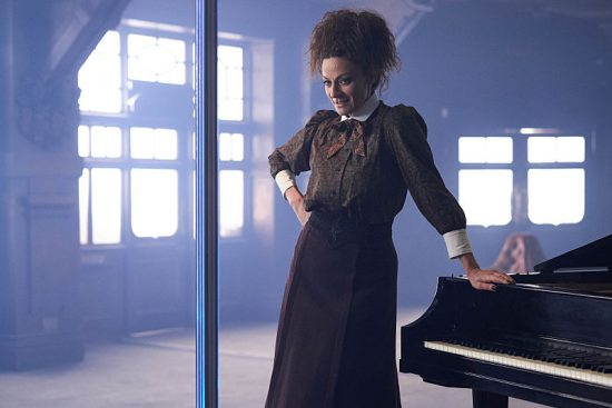 Doctor Who 10x08 Michelle Gomez as Missy
