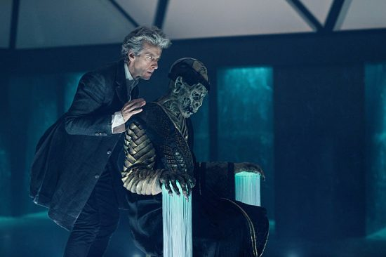 Doctor Who 10x08 the doctor and the broadcast monk