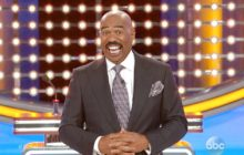 'Celebrity Family Feud' Host Steve Harvey Is Shocked At His Wife's Answer