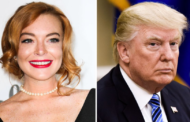 "Lindsay Lohan Defends Trump: ""Stop Bullying Him"""