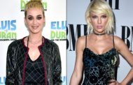 The pop star skipped Sunday's VMAs, which was hosted by her friend-turned-foe Katy Perry