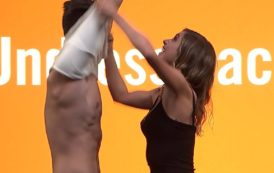 (VIDEO) Undressed: Two Couples Are Instructed To Shed Their Garments, Mere Moments After Meeting