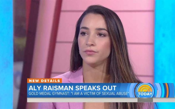 Gymnast Aly Raisman Accused 'Monster' USA Team Doctor For Sex Abuse