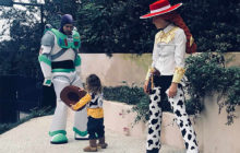 Justin Timberlake, Jessica Biel and Son Silas' Halloween Costumes Go to Infinity and Beyond