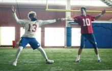 HILARIOUS: Behind the scenes of that hilarious NFL Dirty Dancing commercial — here's how it came together
