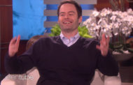 SOO GOOD: Bill Hader Shows Off Harry Styles, Jack Nicholson Impersonations on 'Ellen'
