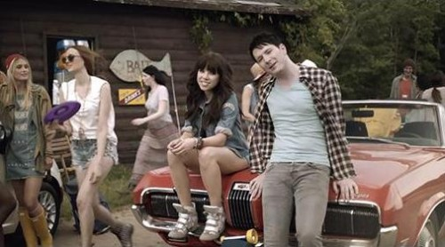 Carly Rae Jepsen & Owl City Having A Good Time In New Song