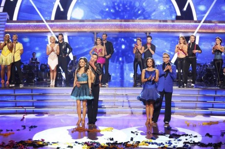 Who got voted off dancing with the stars tonite