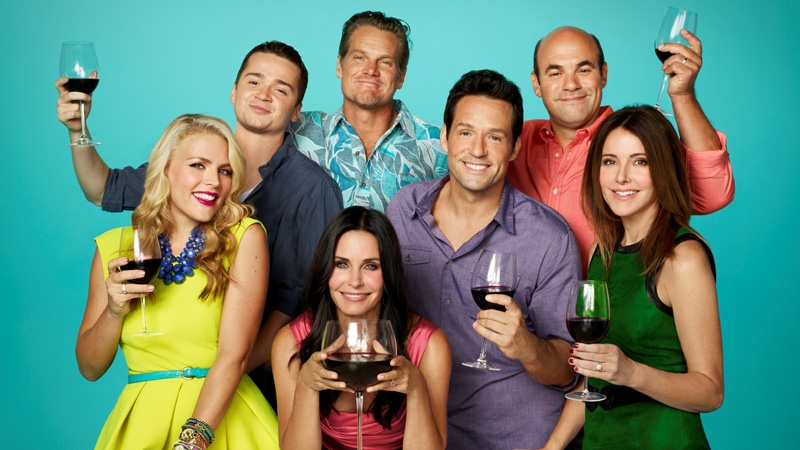 Cougar Town Big Wine Glass