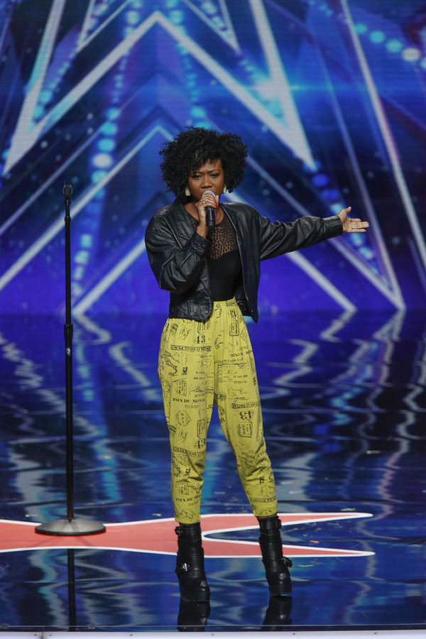 America S Got Talent 2015 Sharon Irving Gets Golden