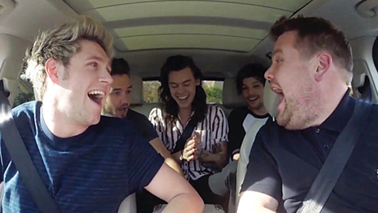 Carpool Karaoke With One Direction On Late Late Show Video
