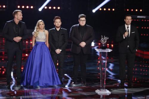 voice season finale winner