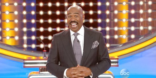 Celebrity Family Feud' Host Steve Harvey Is Shocked At His Wife's Answer