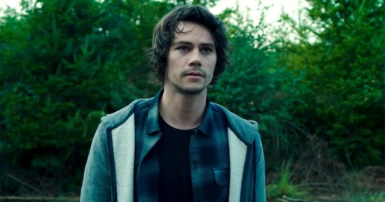 Dylan O'Brien as Mitch Rapp in the 2017 movie adaptation of