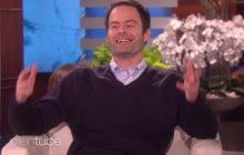 SOO GOOD: Bill Hader Shows Off Harry Styles, Jack Nicholson Impersonations on 'Ellen'